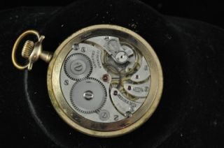 Vintage 12S Swiss Medora Open Face Pocketwatch Running