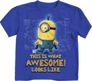 Despicable Me Minion Awesome T Shirt