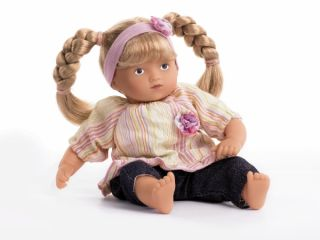 Gotz Dolls 8 Mini Muffin Blonde Girl Doll New