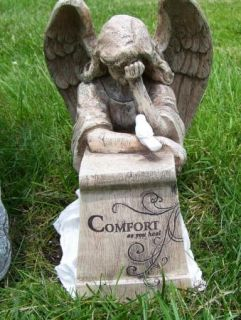 Weeping Angel Memorial Statue Sympathy Figurine