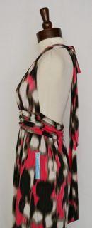 Alice Olivia Mena Long Maxi Dress XS 0 2 4 UK 4 6 8 Dot Print Halter