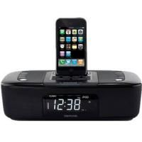 Memorex MI4290P Dual Alarm Clock Radio iPod iPhone Dock