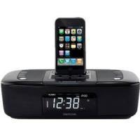 Memorex MI4290P Dual Alarm Clock Radio iPod iPhone Dock