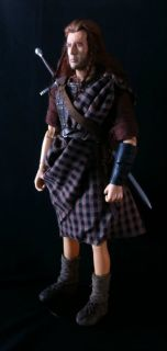 Custom 12 inch 1 6 Scale Mel Gibson Braveheart Action Figure Hot Toys