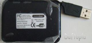 Mediagear USB 2 0 Memory Card Reader Writer