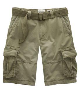 Aeropostale Mens Belted Cargo Shorts 28 29 30 31 32
