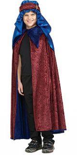Three Wise Men Melchior Costume Child Standard New