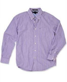 Tommy Hilfiger Shirt, Long Sleeve Vineyard Button Front Shirt