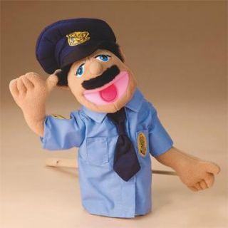Melissa Doug Deluxe Police Officer Hand Puppet Brand New