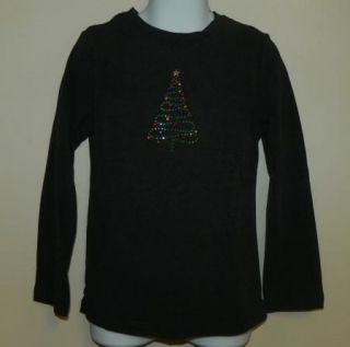 Ellemenno Girls Holiday Christmas Long Sleeve Shirt Top Size 4 5 6 6 7