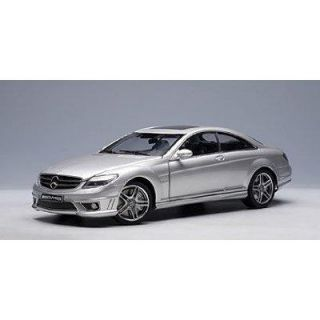 Mercedes Benz CL 63 AMG Coupe Silver Auto Art