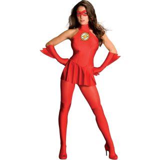 Sexy Costume The Flash Super Hero Heros Adult Halloween