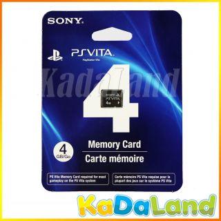 New Official Sony PSVita 4GB Memory Card 4 GB 4G PS Vita PlayStation