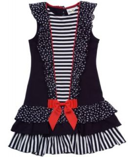 Rare Editions Kids Dress, Little Girl Soutache Dress   Kids