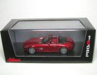 Mercedes Benz SLS AMG Roadster Rot