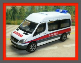 Mercedes Benz Sprinter HK Hong Kong Patrol Police Car 1 74 8cm Long 1