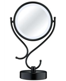 Conair BE116T Lighted Makeup Mirror, Satin Nickel   Personal Care