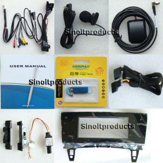 Mercedes Benz GLK 7 Touch TFT CAR MP4 MP5 USB Bluetooth+GPS MAP (NO