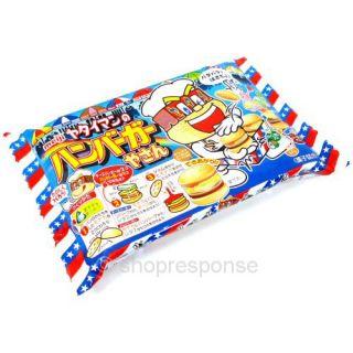 Meiji Burger Gummy DIY Kit Japanese Novelty Gummi Candy Treat Fresh