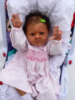 Amazing Reborn Baby Doll Melanie Large Layette
