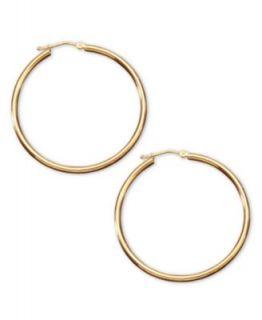 Gold Earrings, 14k Hoop Earrings   Earrings   Jewelry & Watches