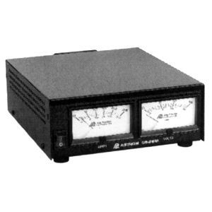 Astron 25 Amp DC Power Supply with Meters SS 25M