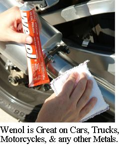 Wenol Metal Polish Cleaner 100 Mil Red Tube