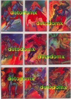 Pepsi Cards Spanish Original 1995 DC Whole Collection 100 Cards Batman