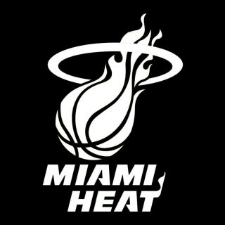 Miami Heat 10 20 Vinyl Car Truck Wall Home Decal Sticker