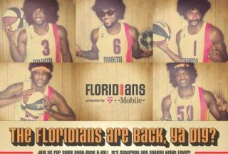 NBA Lebron James Miami Floridians ABA Throwback Swingman Jersey Size