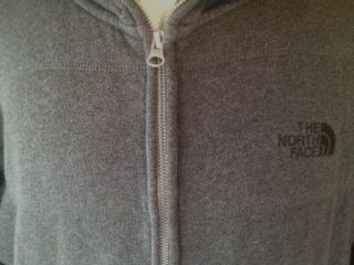 Mens The North Face Gray Wanaka Full Zip Hoodie Sweatshirt Jacket