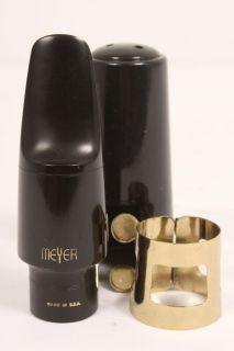 Meyer Hard Rubber Alto Saxophone Mouthpiece 8 Medium 886830045738