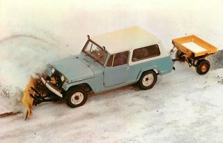 Jeep Commando Meyer Snow Plow Ice Control Equipment Dexter No 51220 C