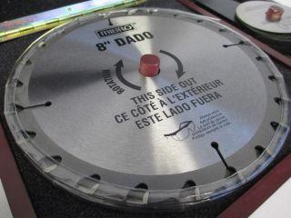 Mibro 416371 Table Saw 8inch Stacking Dado Blade Set