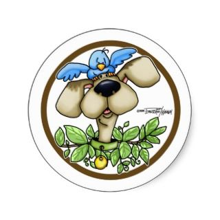 Bird Dog stickers