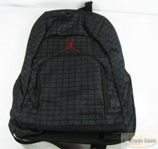 Nike Air Michael Jordan Jumpman Backpack Bookbag Laptop Bag Black