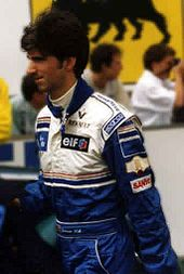 Michael Schumacher and Johnny Herbert F1 1995 Japanese GP Race Winning
