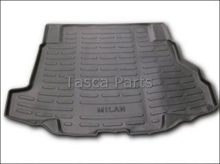 New Black Rubber Cargo Area Protector Mat Liner Mercury Milan