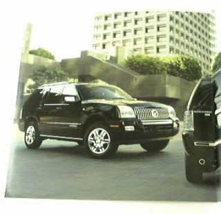 2009 09 Mercury Mountaineer Truck SUV Brochure Premier