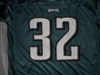 Reebok Philadelphia Eagles Michael Lewis Football Jersey #32 Mens Size
