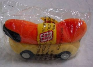 Oscar Meyer Weiner Mobile 6 Plush Stuffed Animal Toy New