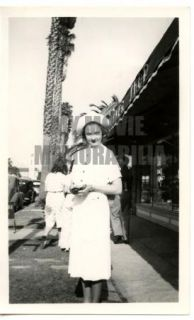 Una Merkel Vintage 1940s Never Seen Candid Photograph