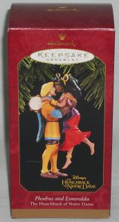 Hallmark Ornament The Hunchback Of Notre Dame Phoebus & Esmeralda 1997