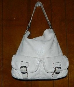 Michael Michael Kors Off White Leather Purse Handbag