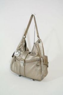 Michael Kors Riley Large Bronze Leather Tote Handbag