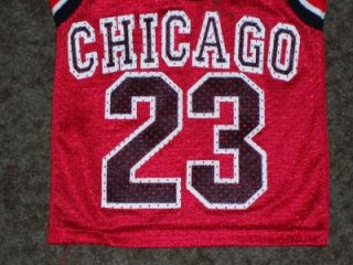 Vtg Chicago Bulls Michael Jordan Basketball Jersey Toddler Youth XS