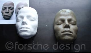 Michael Jackson Life Mask/Cast From Thriller Video, Sculptor William