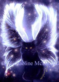 Angel Fairy Cat by Michaeline McDonald