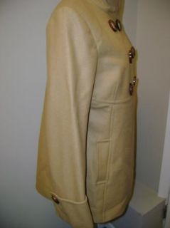 Michael Michael Kors Brown Babydoll Wool Coat $230