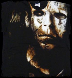 Halloween II Big Print Michael Myers T Shirt Official Fast SHIP
